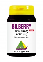 Bilberry extra strong 4000 mg Pure