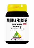Mucuna Pruriens extra strong 3750 mg Pure