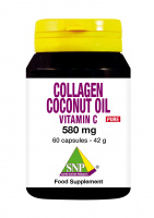 Collagen Coconut oil Vitamin C