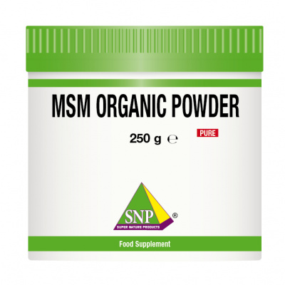 MSM organic powder