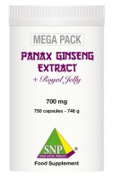 Panax Ginseng + Royal Jelly + Guarana  MEGA PACK