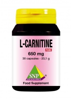 L - Carnitine 650 mg Pure