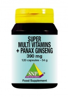 Super Multi Vitamins + Panax Ginseng